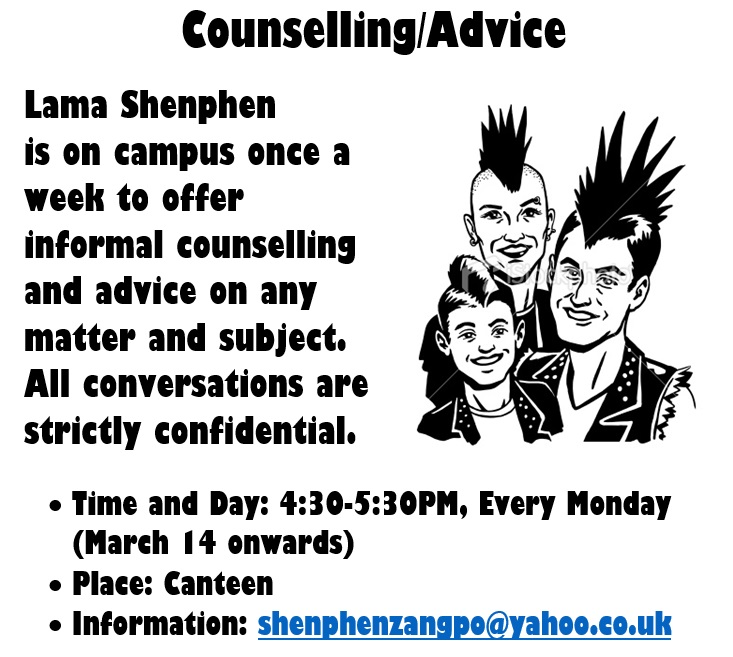 Counselling advice