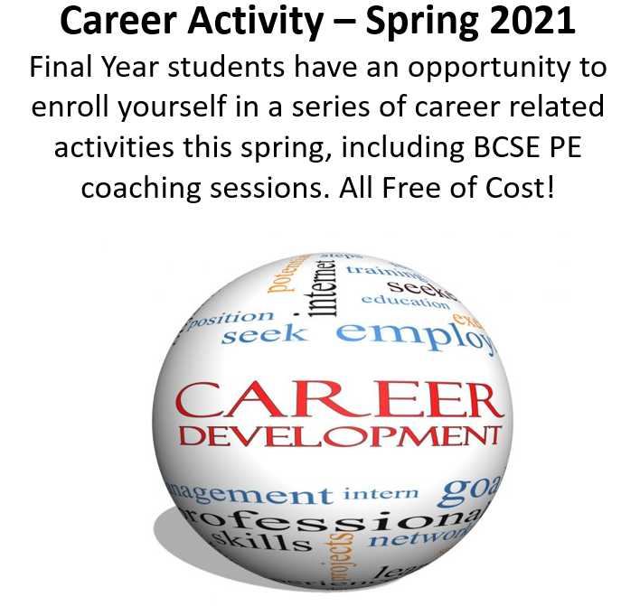 Career Activity Spring 20210302