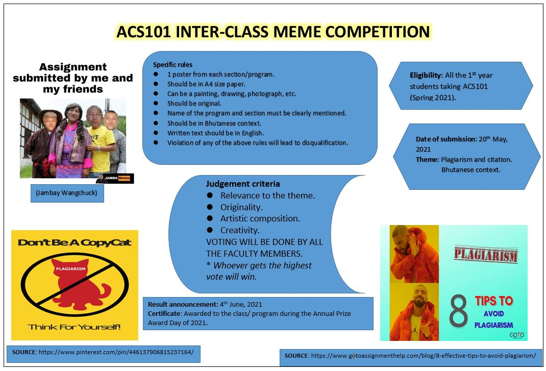 INTER CLASS MEME COMPETITION 20210412